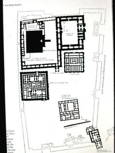 Detail of the ritual temenos district, Ur, c. late 3rd mill. BCE. Note large ziggurat, terrace of Ur-Nammu, the Giparu residence of the Entu priestess, the palace of Ur-Nammu (the E-Hur-Sag). Entire complex surrounded by temenos walls, shows central role for ritual in the ancient city.
