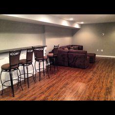 Finished basement!