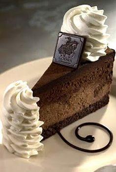 YESS!...cheescake factory Godiva Chocolate Cheescake