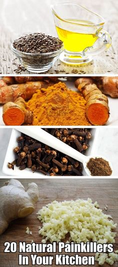 Healthy living for your body: Top 20 Natural Painkillers in Your Kitchen