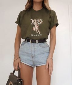 Casual Summer Outfits, Short Outfits, Trendy Outfits, Cute Outfits, Teenage Girl Outfits, Teen Fashion Outfits, Look Fashion, Preteen Fashion, Fashion Blogs