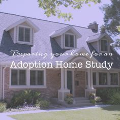 The home study process can be long and daunting. But by far what many hopeful adoptive parents stress about the most is the home visit. We...