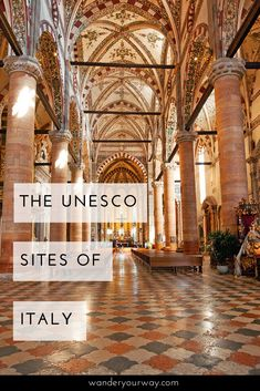 Did you know Italy has the most UNESCO World Heritage sites of any country? It's true. And these sites are gorgeous, stunning and inspiring. And I think some of them will surprise you. Click through to find out more.