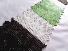 Lady with crochet: Wielkanocny bieżnik / Crochet easter doily