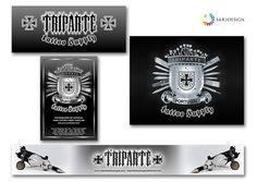Triparte Tattoo Supply - Print Design Print Design, Graphic Design, Tattoo Supplies, Tattoos, Accessories, 3d Pictures, Tatuajes, Tattoo, Visual Communication