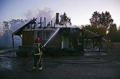 Piparkakkutalona tunnettu Ainolan Alakööki tuhoutui tulipalossa lokakuussa. Pian selvisi, että kyseessä oli tuhopoltto.  Kuva: Joel Karppanen
