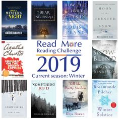 Read More Reading Challenge: A Book Set During the Current Season: Winter Edition The Snow Child, Detective Agency, Reading Challenge, Agatha Christie, Read More, Books To Read, Challenges, Seasons, Seasons Of The Year