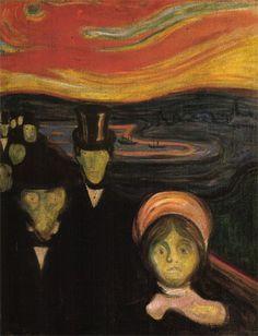 El permanente contacto con la enfermedad y la muerte hicieron de Edvard Munch un artista sombrío y melancólico quien creó a partir de la evocación.
