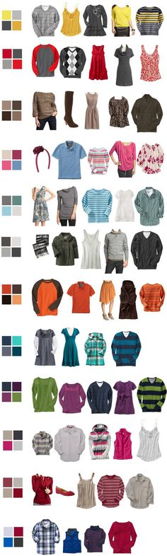 What to wear...coordinating but not matching.