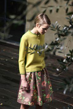 silk brocade skirt? PRE-FALL 2013  Antonio Marras