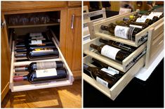 #kitchen #wine #storage