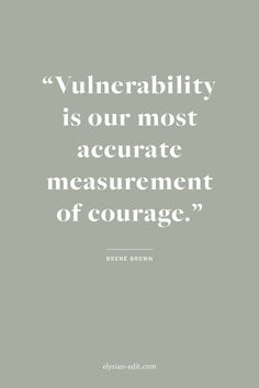 UOGoals: Words of wisdom from Brené Brown — vulnerability is essential to taking risks.