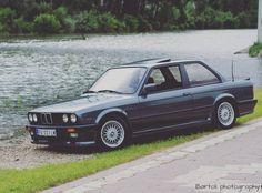 BMW E30 Mtech-1 Delphin Metallic 1987 _____________________________(OO=[][]=OO) OEM Mint Look  by the river Tamiš. Bartoli.photography