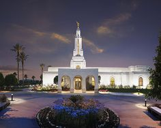 Orlando Temple? The back view away from the main street?
