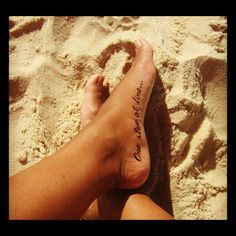 one step at a time foot tattoos - Google Search
