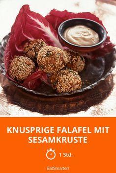 Knusprige Falafel mit Sesamkruste - smarter - Zeit: 1 Std.   eatsmarter.de