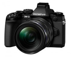 Olympus OM-D E-M1 front