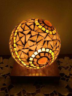 Lámpara con venecitas