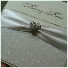 Luxury crystal wedding place cards