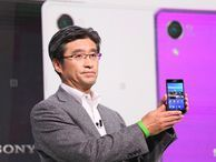 Sony shows off wearables, tablets and phones at MWC (photos) Sony Mobile's Kunimasa Suzuki revealed the company's the Xperia Z2 smartphone and tablet along with the new Xperia M2 and gave more insight into the Sony SmartBand wearables.