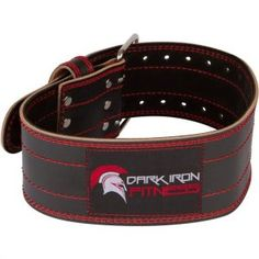 Dark Iron Fitness Genuine Leather Pro Weight Lifting Belt for Men and Women - Durable Comfortable and Adjustable with Buckle - Stabilizing Lower Back Support for Weightlifting Best Weight Lifting Belt, Weight Lifting Workouts, Lower Back Support, Gym Bag Essentials, Workout Belt, Thing 1, No Equipment Workout, Fitness Equipment, Training Equipment