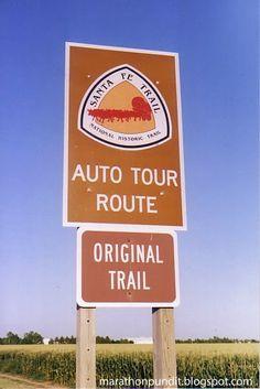 Santa Fe Trail, western Kansas.