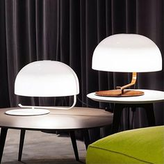 50 years ago, designed Marco Zanuso, one of the main protagonists of Italian design, created this swivel desk lamp that has now been reissued by Oluce Furniture Styles, Furniture Design, Crystal Lights, Bright Homes, Mid Century Modern Furniture, Interior Lighting, Lighting Design, Lamp Design, Bauhaus