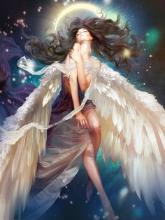 Beautiful Angel | Fantasy Art |