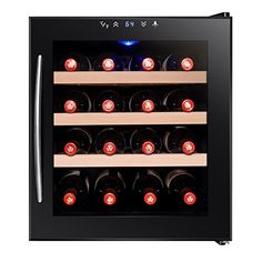 Best Wine Rack | Firebird 16 Bottles Adjustable Temperature Control Thermoelectric Freestanding Electric Wine Cooler Cellar -- Read more reviews of the product by visiting the link on the image. Note:It is Affiliate Link to Amazon.
