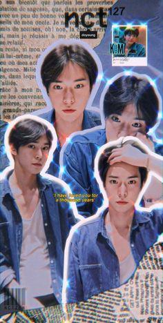 Nct 127, K Pop, Cute Pastel Wallpaper, Kpop Posters, Nct Doyoung, Seventeen Wallpapers, Jisung Nct, Jaehyun Nct, Cha Eun Woo