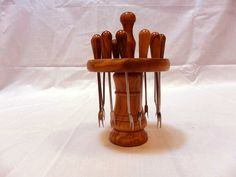 Handmade Wooden Carousel with picks by solivewood