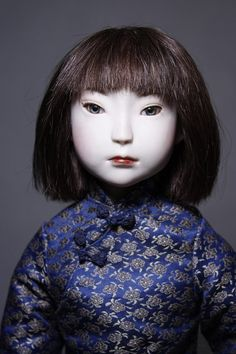Bisque doll  Seirun by WakuwakuDoll on Etsy