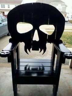 1000 Images About Wooden Chairs On Pinterest Skull