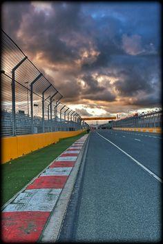 Melbourne F1 straight...amazing! Was here for the 2004 season opener!