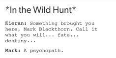 Mark and Kieran in the Wild Hunt #TMI #TID