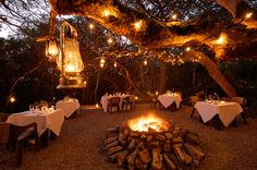 Misdsummer nights and culinary delights in the Boma | Grootbos
