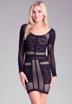 #Bebe Harper #Lace #Dress