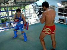 Samingprai Kiatphontip seven minute Muaythai drill -  Around the 5:30 to 6 min mark there is a STUNNING elbow combo
