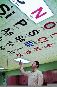 Gran idea pel sostre de classe