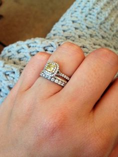 my tiffany co beauty love my yellow soleste engagement ring blue