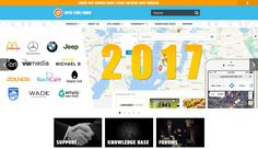 We're about to enter 2017 and we have updated our website to serve our customers better at http://superstorefinder.net #goodvibes2017 #storelocator #2017 #storefinder