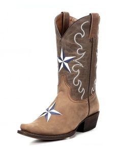 Women's Western Star Cowgirl Boot