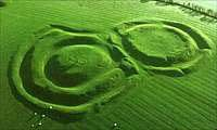 The Hill of Tara was the ancient seat of the High Kings of Ireland. There are a multitude of remains on the hill, including a passage mound, the Mound of the Hostages, which dates to between 2500-3000BC, and other earthworks and structures.