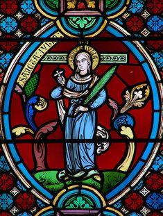 Sainte Julia / Santa Julia // Cathédrale de Meaux, France