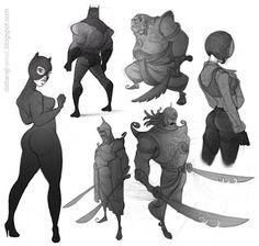 DATTARAJ KAMAT Animation art: Sunday morning sketches...