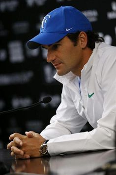 Roger Federer  Hard game today, but you did it!  :)