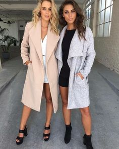 Pin by ceci ✨ on fashion одежда, мода. Fall Outfits, Casual Outfits, Cute Outfits, Fashion Outfits, Women's Fashion, Glamour, Womens Fashion For Work, Passion For Fashion, Coats For Women