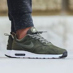 Nike Air Max Tavas x Leather Cargo Khaki  Cop or Drop? Tag a friend who needs these!  #AirMaxKicks