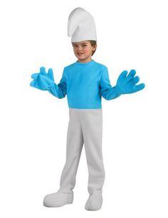 Schlumpf Kinder Kostüm