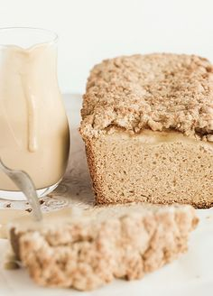 Apple Crumble Loaf -